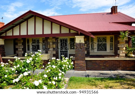 A 1920s Bungalow house in Australia