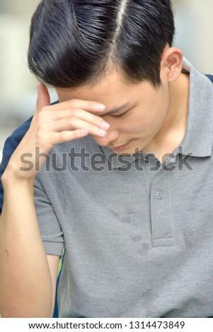 A Sad Teenage Male #1314473849