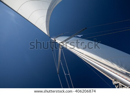 a sail in the sky