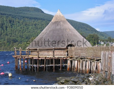 A Scottish Crannog on the Banks of Lock Tay