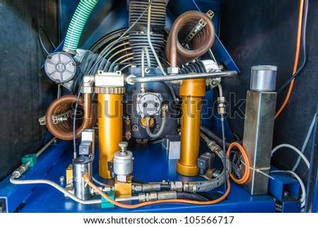 A Scuba Tank Air Compressor