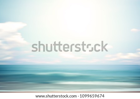 a seascape abstract beach...