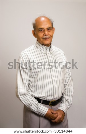 A senior East Indian man