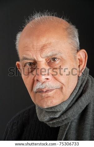 A senior Indian / Asian man