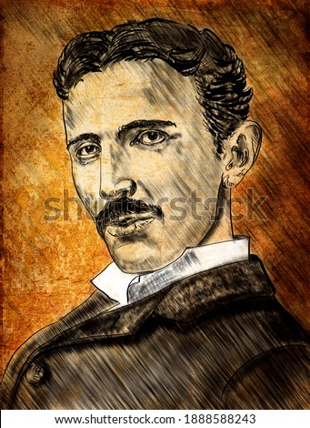 A series of great scientists. Nikola Tesla (bron 1856) was a Serbian-American inventor, electrical engineer, mechanical engineer, and futurist