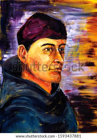 A series of scientists. Bernardino de Sahagun is a Spanish missionary, monk of the Franciscan order, historian and linguist who worked in Mexico. Author of many works