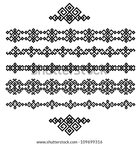 Ornamentos Redondos together with Mandalas furthermore Monograms And Swirl Elements 5521170 additionally Floral border together with 389068855282740603. on free ornament patterns