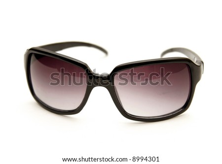 A set of tinted sunglasses