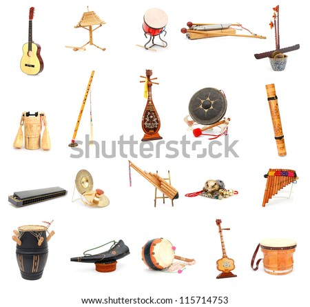 A set of traditional folklore musics