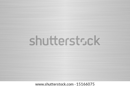 a sheet of rendered brushed steel or metal in gray