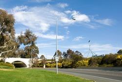 A short tunnel under a road near Parliament House, Canberra, Australia