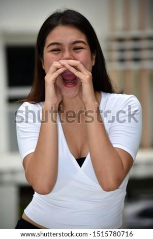 A Shouting Pretty Minority Female