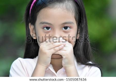 A Silent Cute Minority Person