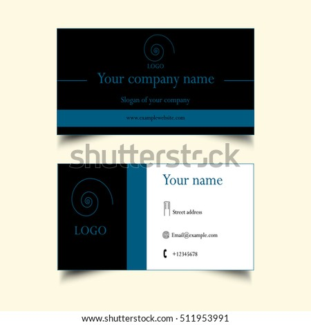 A Simple Business Card Stock Shutterstock