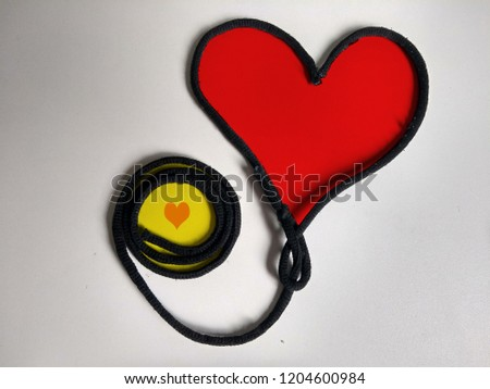 A simple heart to demonstrate the love we owe each other, more respect and more love.   #1204600984
