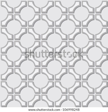 A simple seamless pattern - geometric gray elements