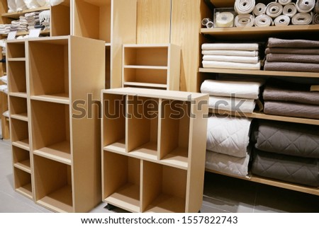 A simple shelf made of pulp board