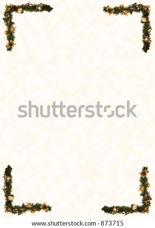 A4 Size Decorative Border Stock Photo 873715 : Shutterstock