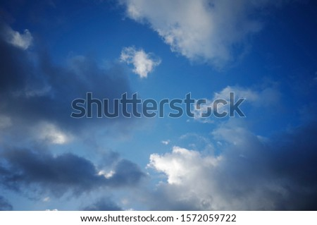 A sky full of clouds of various shapes and fun shapes. #1572059722