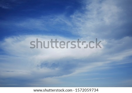 A sky full of clouds of various shapes and fun shapes. #1572059734