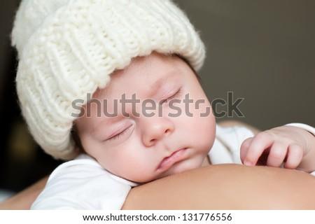 A sleep of the new born baby