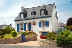 a small house in the North of France