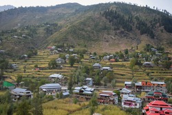 A small village in Azad Jammu And Kashmir