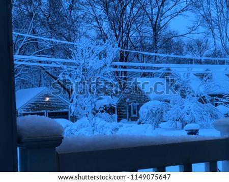 A snowy day #1149075647