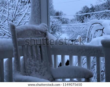 A snowy day #1149075650
