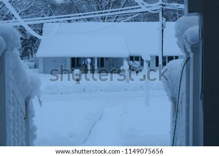 A snowy day #1149075656