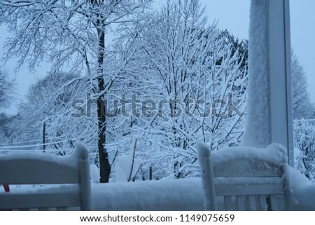 A snowy day #1149075659