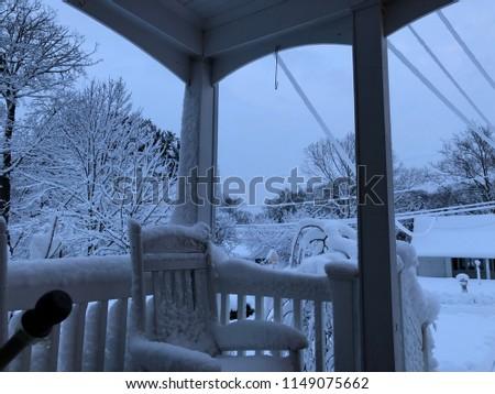 A snowy day #1149075662