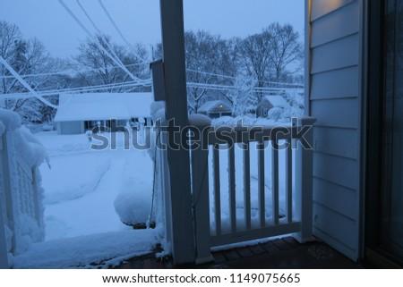 A snowy day #1149075665