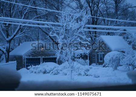 A snowy day #1149075671