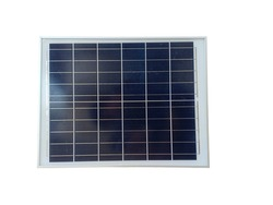 A solar cell or Photovoltaics module (PV module, Solar module) isolated on white background.