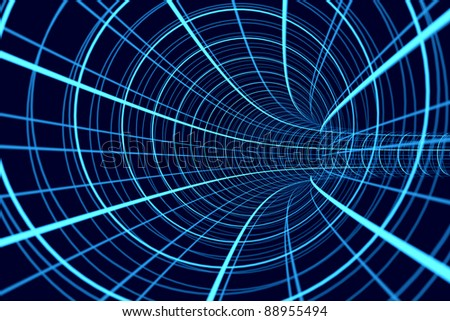 a space motion background, information moving concept - stock photo
