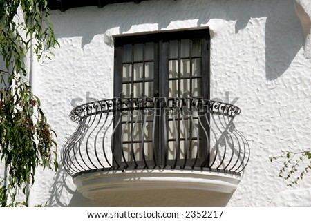 A spanish style balcony stock photo 2352217 shutterstock for Balcony in spanish
