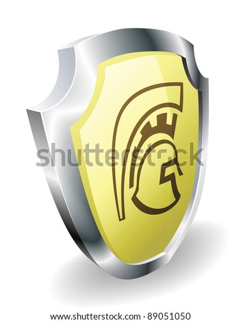 Spartan Shield Symbol Meaning