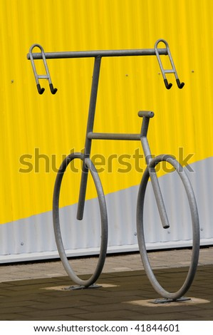a special design of an bicycle holder