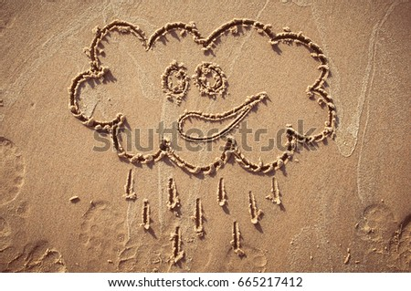 Free Photos A Speech Or Think Bubble Drawn Out On A Sandy Beach
