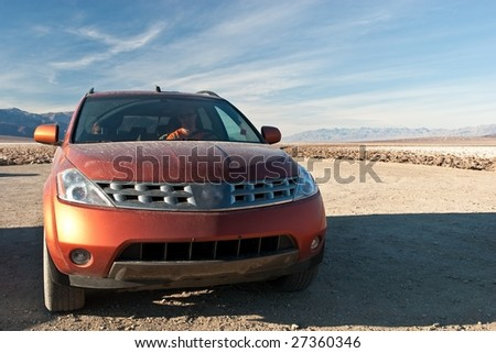 A sport utility vehicle (SUV) is a generic marketing description for a vehicle similar to a station wagon but built on a light-truck chassis