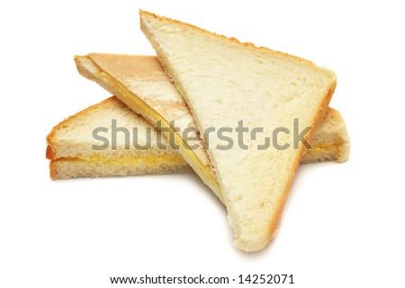 A stack of sandwich cu...