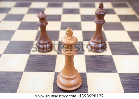 A stalemate position of a chess game Сток-фото ©