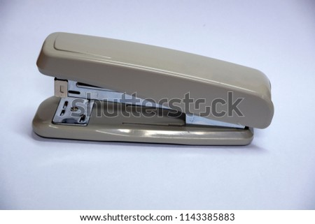 A Stapler isolated on white background
