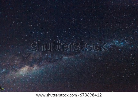 Shutterstock A starry and beautiful sky from the Milky way of Brazil
