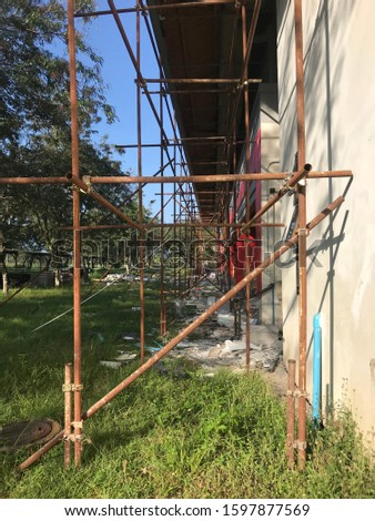 A steel structure is composed of structural members that are made of steel, usually with standard cross-sectional profiles and standards of chemical composition and mechanical properties.
