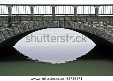 A stone bridge over the ocean at Wakayama