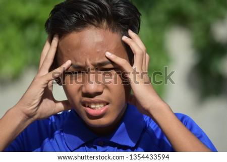 A Stressed Filipino Male