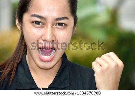 A Stressed Teenage Female