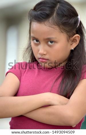 A Stubborn Youthful Filipina Female #1493094509